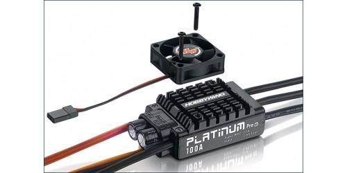 Hobbywing Brushless Regler Platinum 100A V3, 2-6s, 10A BEC ...