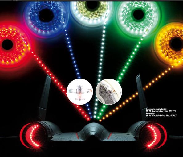 led leuchtband 1 meter fpv beleuchtung fpv racer rc multicopter. Black Bedroom Furniture Sets. Home Design Ideas